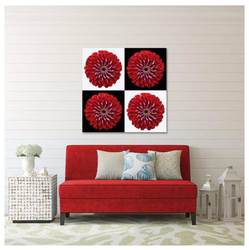 Red Flower Quartet on Checkers